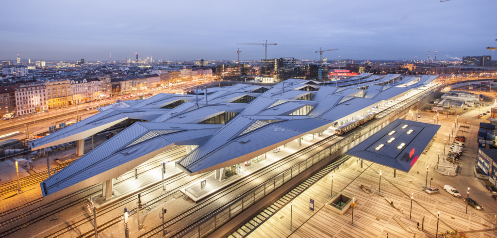The competition for the New Brno Main Train Station attracted the best architects from around the world, so let's have a look at their buildings