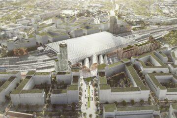 Winning Design Chosen For New Brno Main Train Station