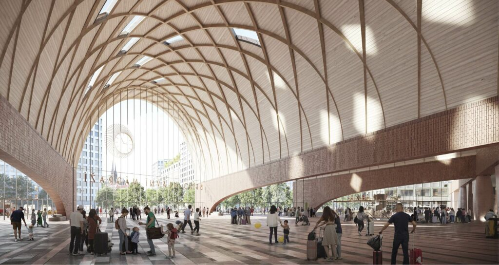 International Architects To Talk With Brno Public About Future Railway Station